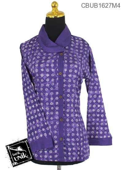 Baju Batik Blus Panjang Motif Ceplok Alas