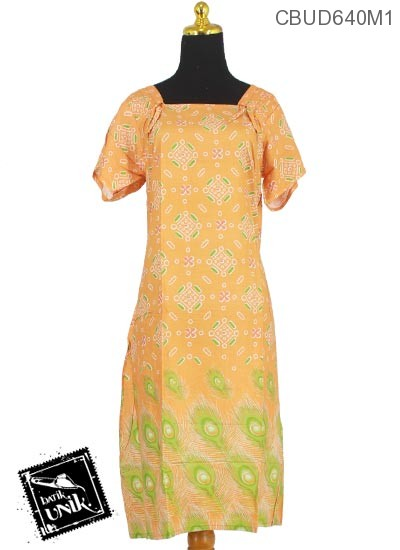 Daster Batik Terbaru  Santhung Motif Khrisna Manik Kotak