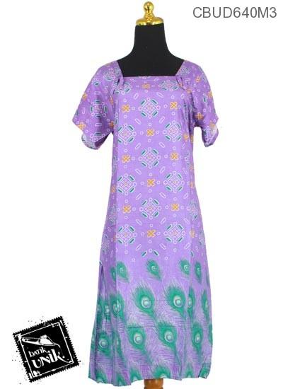 Daster Batik Santhung Motif Khrisna Manik Kotak