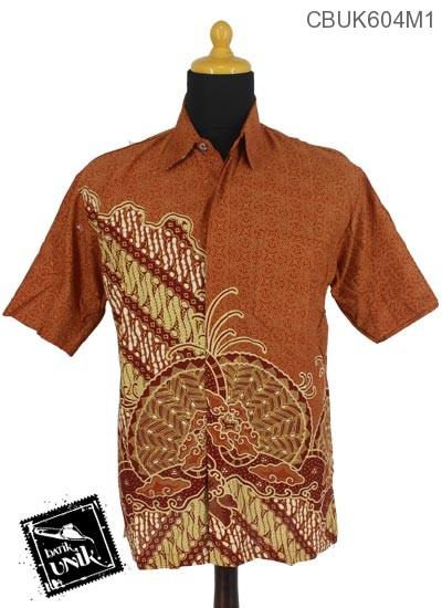 Baju Batik Terbaru  Kemeja Katun Motif Gelembung Pulau