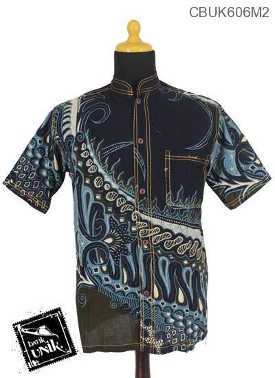 Kemeja Batik Katun Motif Parang Nogo