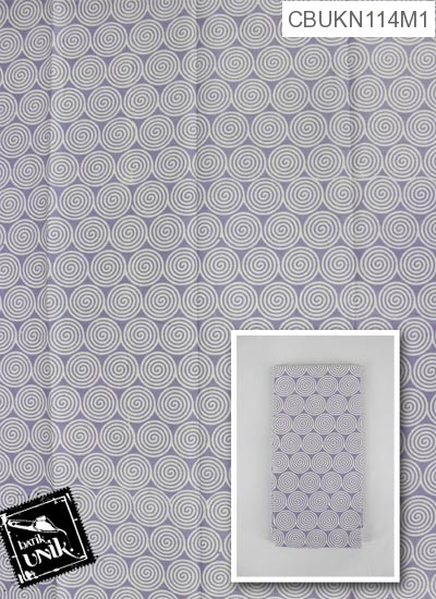 Kain Batik Terbaru  Printing Motif Spiral Nyamuk