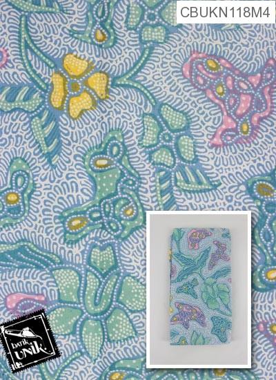 Kain Batik Printing Motif Kembang Alas Sisik