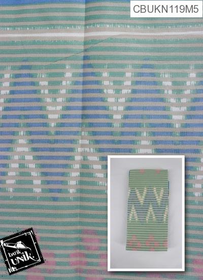 Kain Batik Printing Motif Rang Rang Polkadot