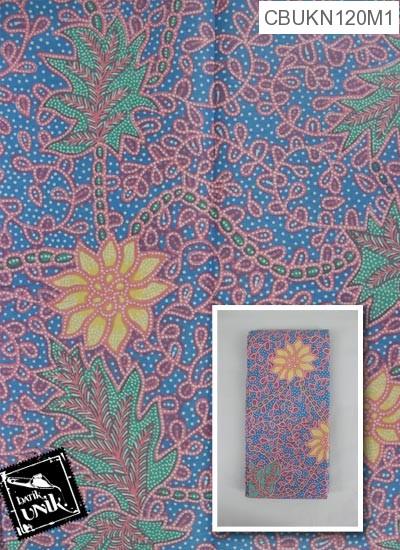 Kain Batik Terbaru  Printing Motif Matahari Regolan