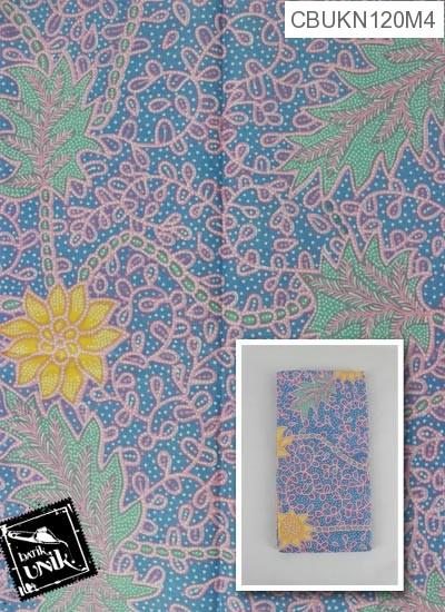 Kain Batik Printing Motif Matahari Regolan