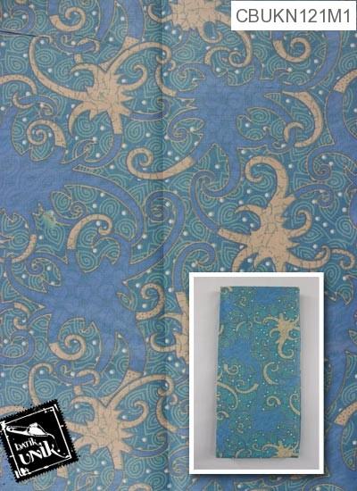 Kain Batik Terbaru  Printing Motif Gurita Alas