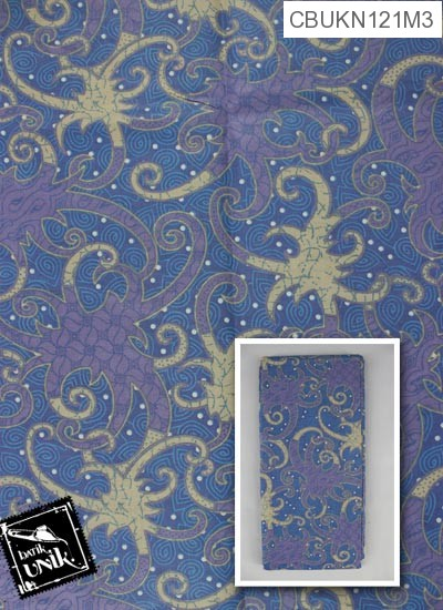 Kain Batik Printing Motif Gurita Alas