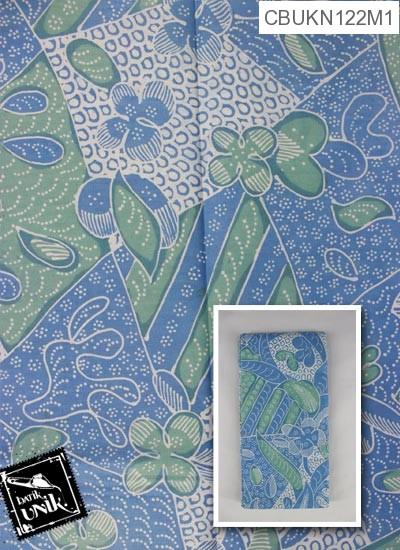 Kain Batik Terbaru  Printing Motif Bunga Isi Prisma
