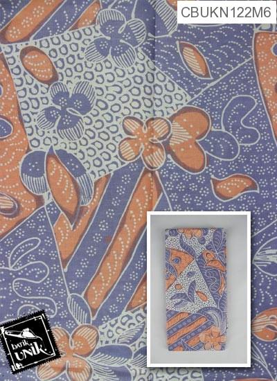 Kain Batik Printing Motif Bunga Isi Prisma
