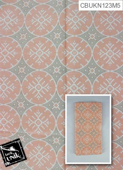 Kain Batik Printing Motif Ceplok Roda