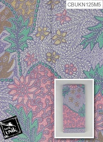 Kain Batik Printing Motif Sisik Godhong Regolan