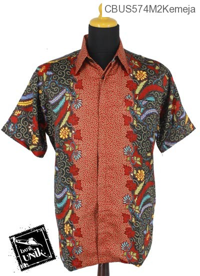 Baju Batik Sarimbit Kemeja Motif Songgo Langit Kembang
