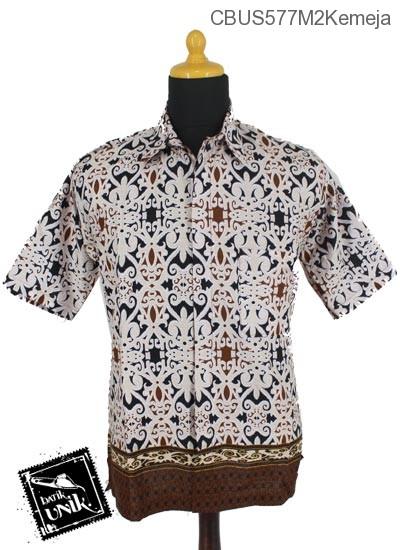 Baju Batik Sarimbit Kemeja Pekalongan Motif Asmad Jengking