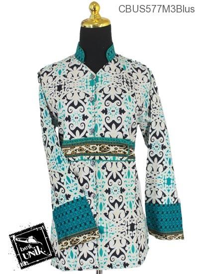 Baju Batik Sarimbit Blus Pekalongan Motif Asmad Jengking