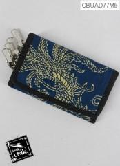 Gantungan Kunci Dompet Motif Batik Kontemporer Krayon