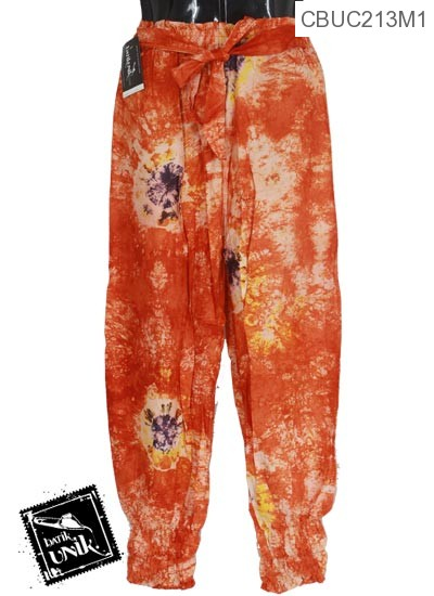 Celana Aladin Motif Tali Semprot