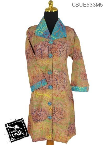 Dress Maya Motif Godhong Kipas