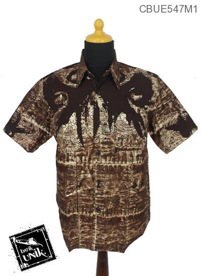 Baju Batik Terbaru  Kemeja Motif Lowo Kotak