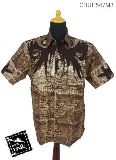 Baju Batik Kemeja Motif Lowo Kotak