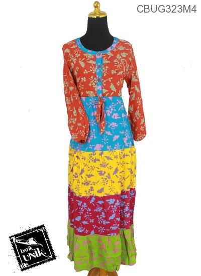 Longdress Batik Motif Godhong Remek