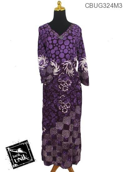 Longdress Batik Santhung Motif Watu Tumpuk