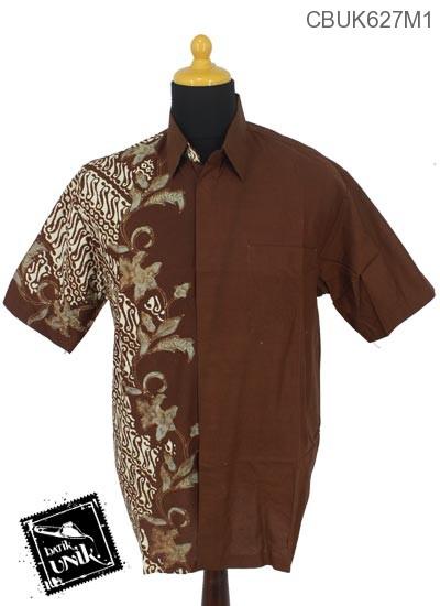 Kemeja Batik Terbaru  Katun Motif Parang Rangkaian