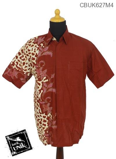 Kemeja Batik Katun Motif Parang Rangkaian
