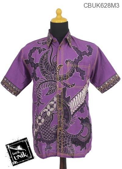 Baju Batik Kemeja Motif Parang Sisik
