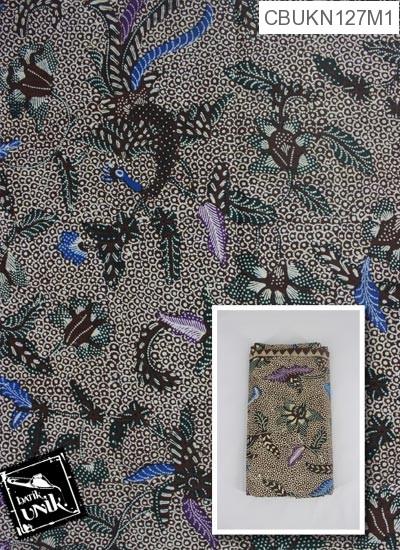 Kain Batik Terbaru  Printing Motif Manukan Godhong