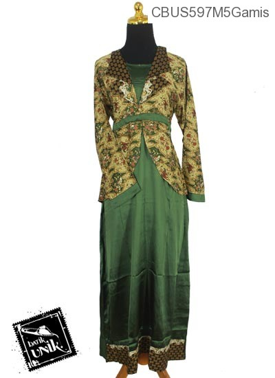 Baju Batik Sarimbit Gamis Motif Katulistiwa Gamis Batik
