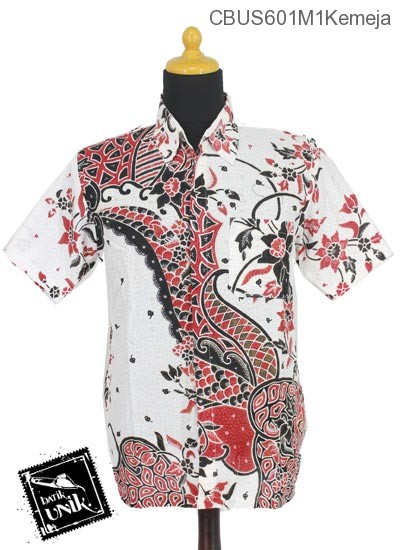 Baju Batik Sarimbit Kemeja Katun Motif Sisik Riti