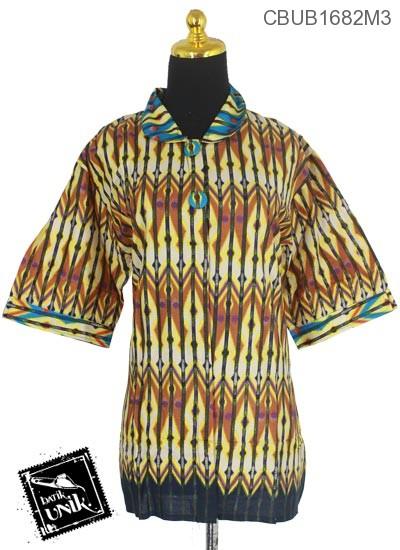 Blus Batik Tanggung Motif Rang Rang Empring