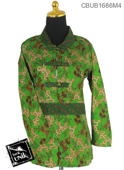 Blus Batik Panjang Motif Mego Keyong Tumpal