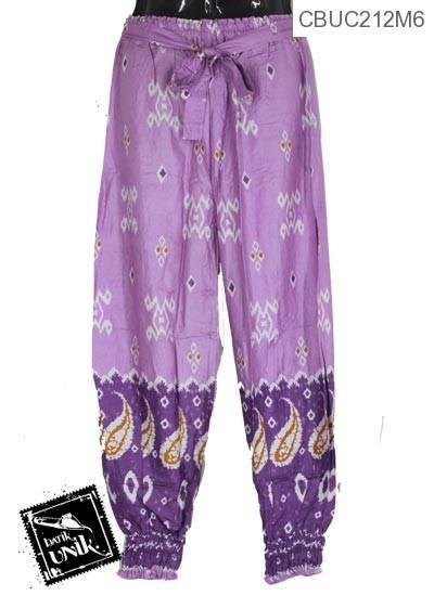 Celana Aladin Motif Amuba Tetris