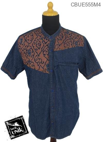 Koko Jeans Jeans Motif Klasik Cokelat