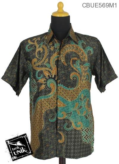 Kemeja Batik Terbaru  Motif Kotemporer Wulu Parang