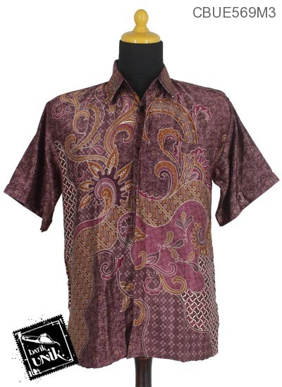 Kemeja Batik Motif Kotemporer Wulu Parang