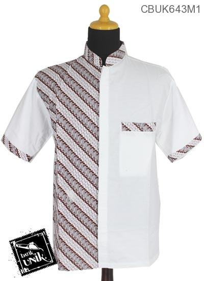Baju Batik Terbaru  Kemeja Koko Motif Parang Korek