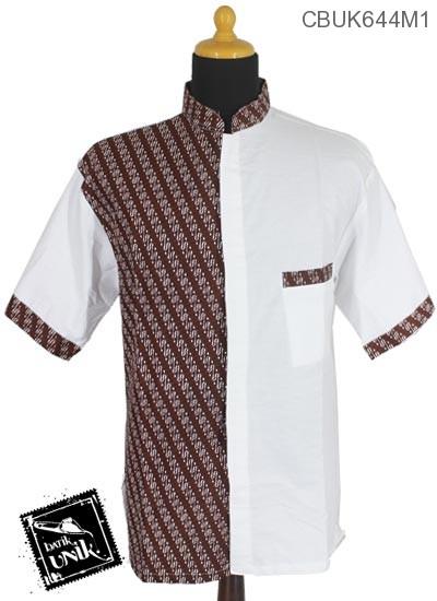 Baju Batik Kemeja Koko Motif Parang Es Isi