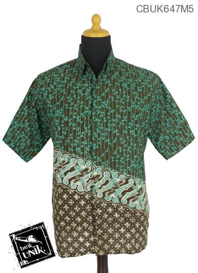 Kemeja Batik Pekalongan Motif Sarpa Kotemporer