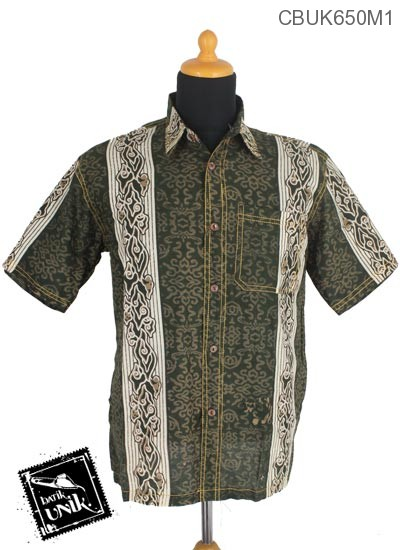 Baju Batik Terbaru  Kemeja Motif Mego Aturan