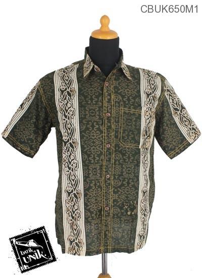 Baju Batik Kemeja Motif Mego Aturan