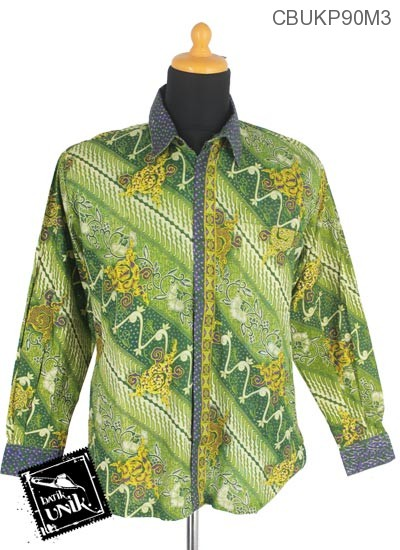 Kemeja Batik Panjang Motif Parang Cuthik Isi