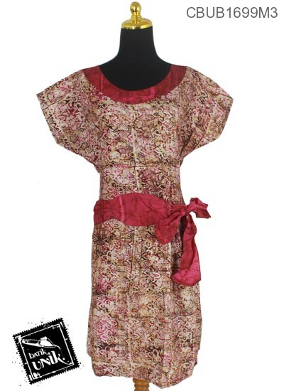 Baju Batik Dress Pekalongan Motif Kotemporer Cucuk