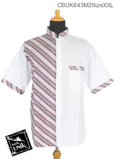 Baju Batik Kemeja Koko Motif Parang Korek