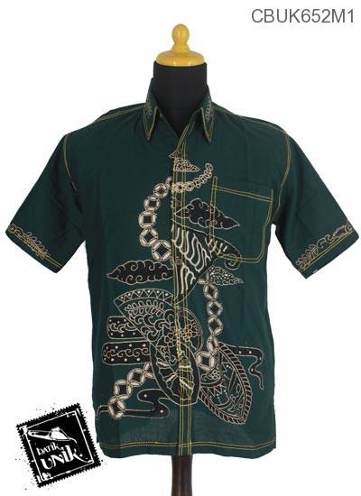 Baju Batik Terbaru  Kemeja Motif Coro Kawung