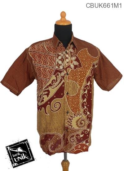 Baju Batik Terbaru  Kemeja Motif Nagoro Alas Sisik