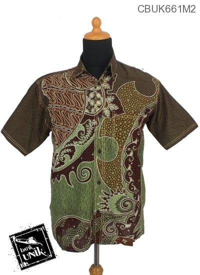 Baju Batik Kemeja Motif Nagoro Alas Sisik