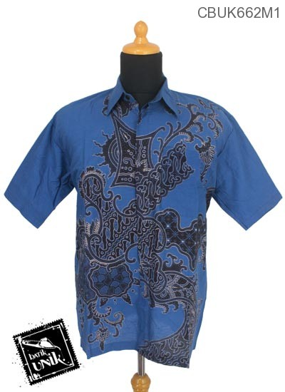 Baju Batik Kemeja Motif Jagad Srengenge